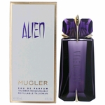 Alien by Thierry Mugler, 3 oz Eau De Parfum Spray for Women Refillable