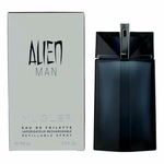Alien Man by Thierry Mugler, 3.4 oz Eau De Toilette Spray Refillable for Men