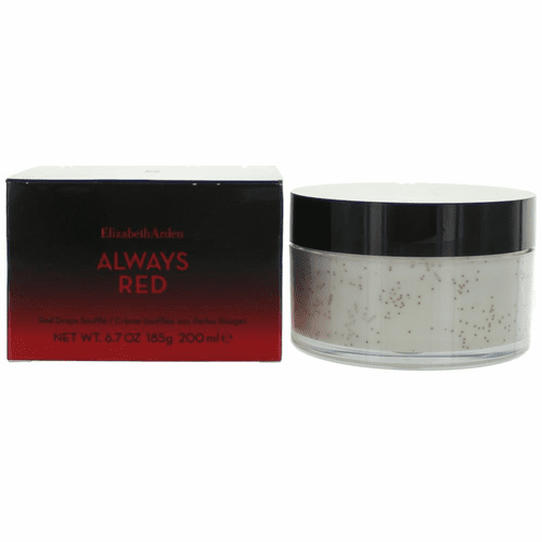 Always Red by Elizabeth Arden, 6.7 oz Red Drops Souffle for Women