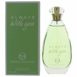 Always With You by Sergio Tacchini, 3.4 oz Eau De Toilette Spray for Women
