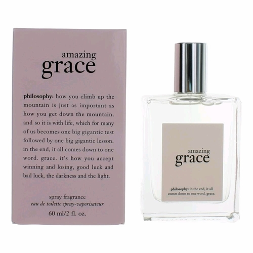 Amazing Grace by Philosophy, 2 oz Eau De Toilette Spray for Women