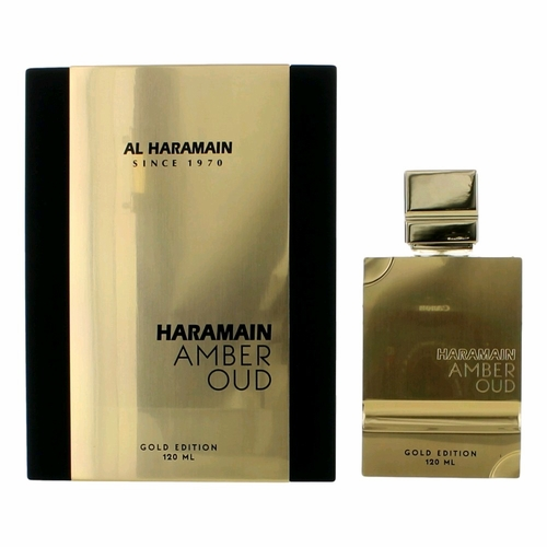 Amber Oud Gold Edition by Al Haramain, 4 oz Eau De Parfum Spray Unisex
