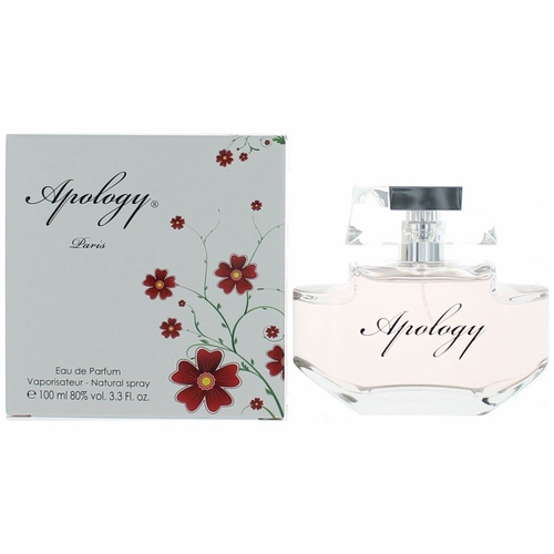 Apology by Paris Bleu Parfums, 3.3 oz Eau De Parfum Spray for Women