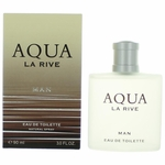 Aqua by La Rive, 3 oz Eau De Toilette Spray for Men