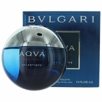 Aqva Atlantique by Bvlgari, 3.4 oz Eau De Toilette Spray for Men