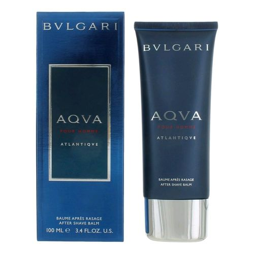 Aqva Atlantiqve by Bvlgari, 3.4 oz After Shave Balm for Men (Aqua Atlantique)