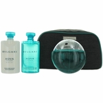 Aqva Marine by Bvlgari, 4 Piece Gift Set for Men