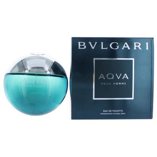 Aqva Pour Homme by Bvlgari, 5 oz Eau De Toilette Spray for Men (Aqua)