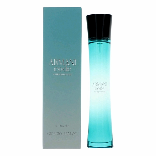 Armani Code Turquoise by Giorgio Armani, 2.5 oz Eau Fraiche Spray for Women