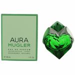 Aura by Thierry Mugler, 1 oz Eau De Parfum Refillable Spray for Women