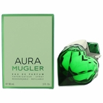 Aura Mugler by Thierry Mugler, 3 oz Eau De Parfum Refillable Spray for Women