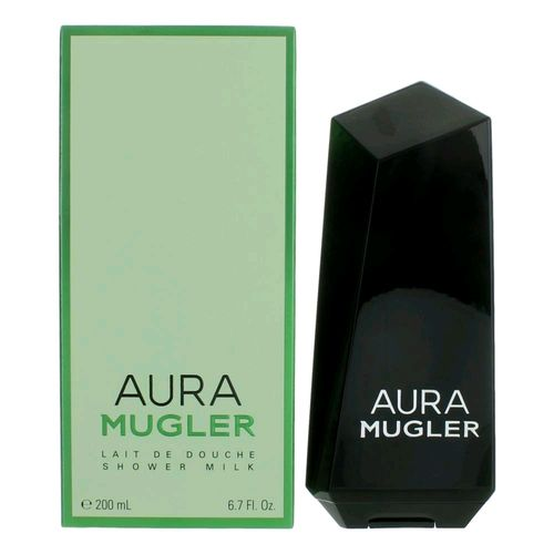 Aura Mugler by Thierry Mugler, 6.7 oz Shower Milk for Women