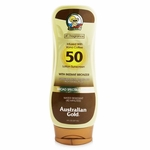 Australian Gold Lotion Sunscreen SPF 50 with Instant Bronzer  237ml/8oz