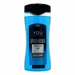 Axe You Refreshed 168H by Axe, 13.5 oz Body Wash for Men
