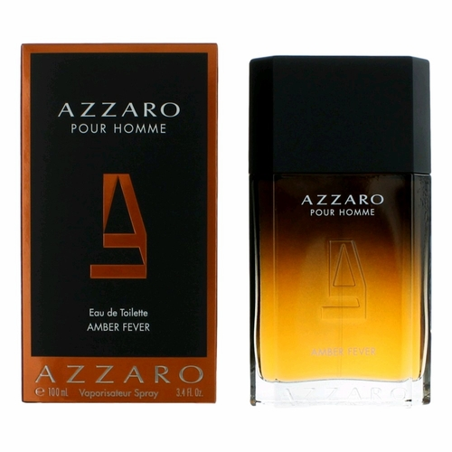 Azzaro Amber Fever by Azzaro, 3.4 oz Eau De Toilette Spray for Men