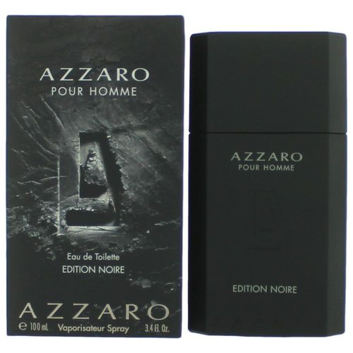 Azzaro Edition Noir by Azzaro, 3.4 oz Eau De Toilette Spray for Men