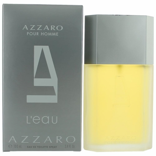 Azzaro L'eau Homme by Azzaro, 3.4 oz Eau De Toilette Spray for Men