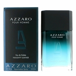 Azzaro Naughty Leather by Azzaro, 3.4 oz Eau De Toilette Spray for Men