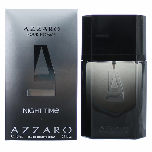 Azzaro Night Time by Azzaro, 3.4 oz Eau De Toilette Spray for Men