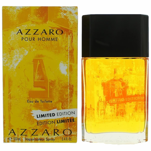 Azzaro Pour Homme Limited Edition 2015 by Azzaro, 3.4 oz Eau De Toilette Spray for Men
