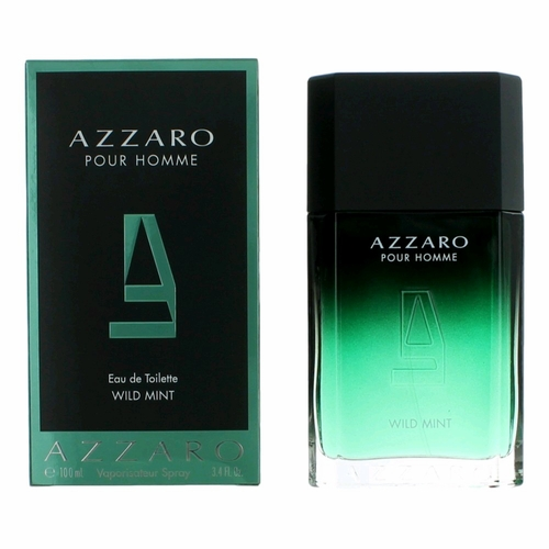 Azzaro Wild Mint by Azzaro, 3.4 oz Eau De Toilette Spray for Men