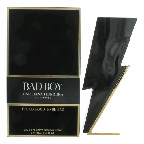 Bad Boy by Carolina Herrera, 3.4 oz Eau De Toilette Spray for Men