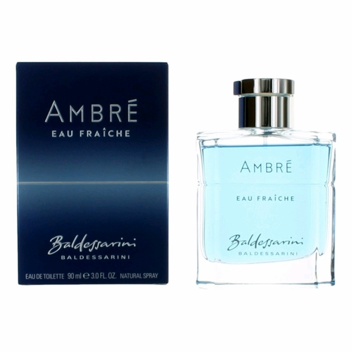 Baldessarini Ambre Eau Fraiche by Baldessarini, 3 oz Eau De Toilette Spray for Men