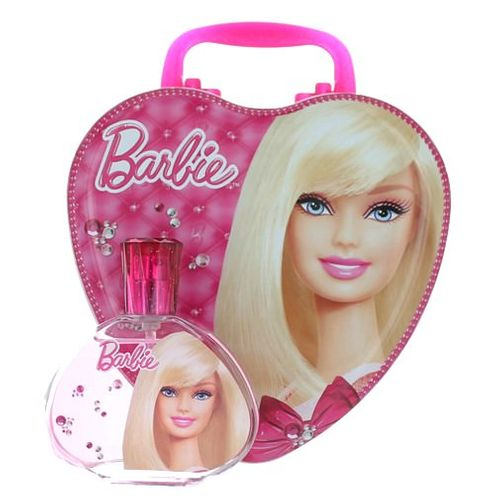 Barbie by Barbie, 3.4 oz Eau De Toilette Spray for Girls with Metal Lunch Box