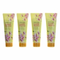 Beautiful Blossoms by Bodycology, 4 Pack 8 oz Moisturizing Body Cream for Women