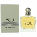 Because It's You by Emporio Armani, 3.4 oz Eau De Parfum Spray for Women