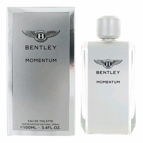 Bentley Momentum by Bentley, 3.4 oz Eau De Toilette Spray for Men
