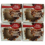 Betty Crocker Scented Candle 4 Pack of 3 oz Jars - Salted Caramel Brownie