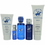Beverly Hills Polo Club Blue by Beverly Hills Polo Club, 5 Piece Gift Set for Men