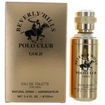 Beverly Hills Polo Club Gold by Beverly Hills Polo Club, 3.4 oz Eau de Toilette Spray for Men