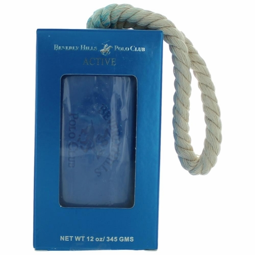 BHPC Active/Sport by Beverly Hills Polo Club, 12 oz Soap on a Rope for Men