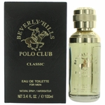 BHPC Classic by Beverly Hills Polo Club, 3.4 oz Eau De Toilette Spray for Men