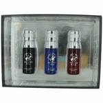 BHPC Collection by Beverly Hills Polo Club, 3 Piece Gift Set for Men (Sexy/Blaze/Blue)