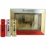BHPC Elements Collection by Beverly Hills Polo Club, 3 Piece Gift Set for Men ( Ignite, Platinum & Gold )