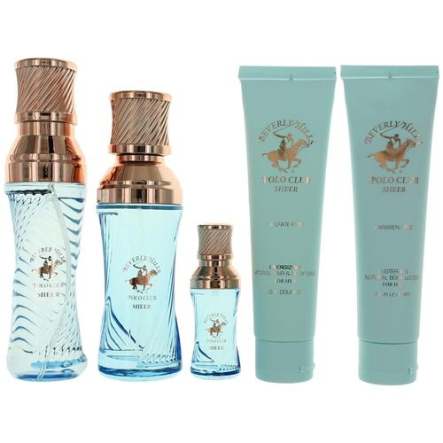 BHPC Sheer by Beverly Hills Polo Club, 5 Piece Gift Set for Women