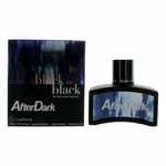 Black Is Black After Dark by NuParfums, 3.4 oz Eau De Toilette Spray for Men