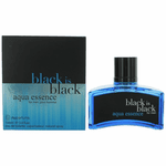 Black is Black Aqua Essence by NuParfums, 3.4 oz Eau De Toilette Spray for Men