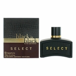 Black is Black Select by NuParfums, 3.4 oz Eau De Toilette Spray for Men