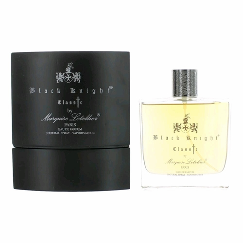 Black Knight Classic by Marquise Letellier, 3.3 oz Eau De Parfum Spray for Men