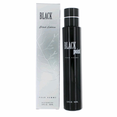 Black Point Black Edition by YZY, 3.4 oz Eau De Parfum Spray for Men