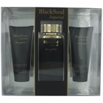 Black Soul Imperial by Ted Lapidus, 3 Piece Gift Set for Men