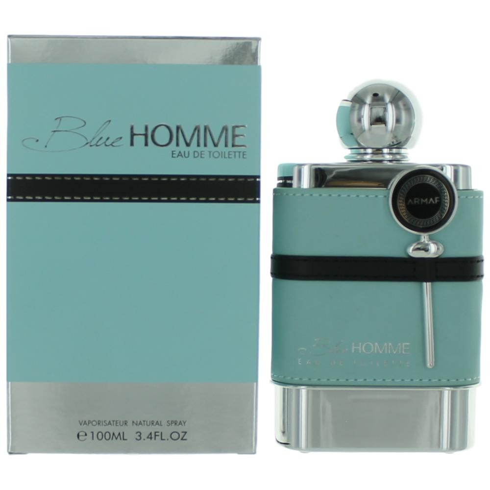 Authentic Blue Homme Cologne By Armaf 34 Oz Eau De Toilette Spray