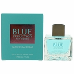 Blue Seduction by Antonio Banderas, 2.7 oz Eau De Toilette Spray for Women