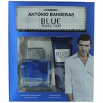 Blue Seduction by Antonio Banderas, 2 Piece Gift Set for Men
