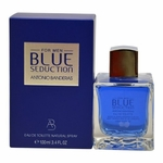 Blue Seduction by Antonio Banderas, 3.4 oz Eau De Toilette Spray for Men