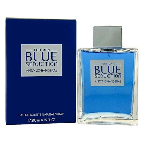 Blue Seduction by Antonio Banderas, 6.7 oz Eau De Toilette Spray for Men